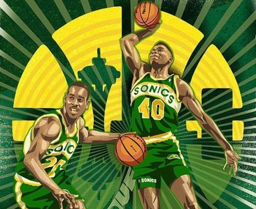 Gary.Payton.Shawn.Kemp.Mark.Sgarbossa.RareInk.NBA