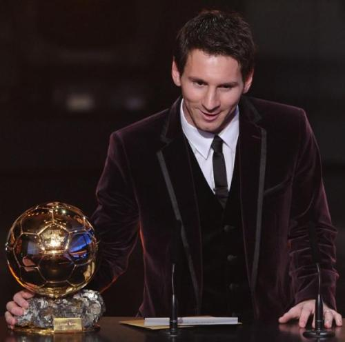 Lionel Messi, FIFA Ballon d'Or award
